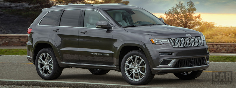 Cars wallpapers Jeep Grand Cherokee Summit - 2018 - Car wallpapers