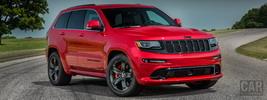 Jeep Grand Cherokee SRT Red Vapor - 2014
