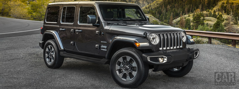 Cars wallpapers Jeep Wrangler Unlimited Sahara - 2018 - Car wallpapers