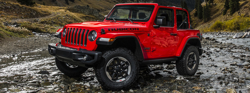 Cars wallpapers Jeep Wrangler Rubicon - 2018 - Car wallpapers