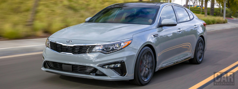 Cars wallpapers Kia Optima SX US-spec - 2018 - Car wallpapers