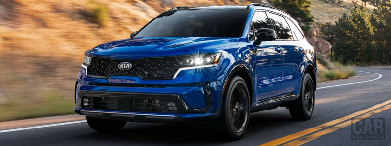 Cars wallpapers Kia Sorento SX US-spec - 2020 - Car wallpapers