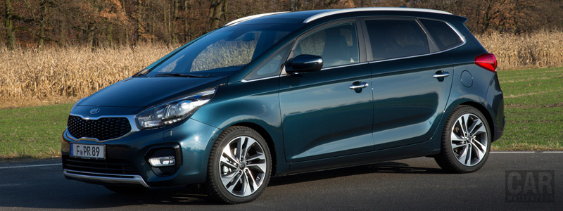 Cars wallpapers Kia Carens EcoDynamics - 2016 - Car wallpapers
