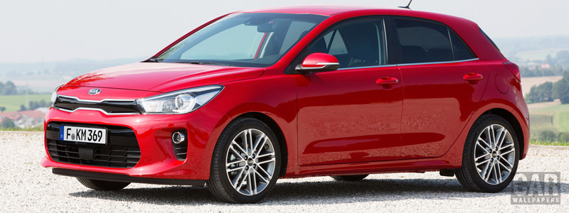 Cars wallpapers Kia Rio - 2016 - Car wallpapers