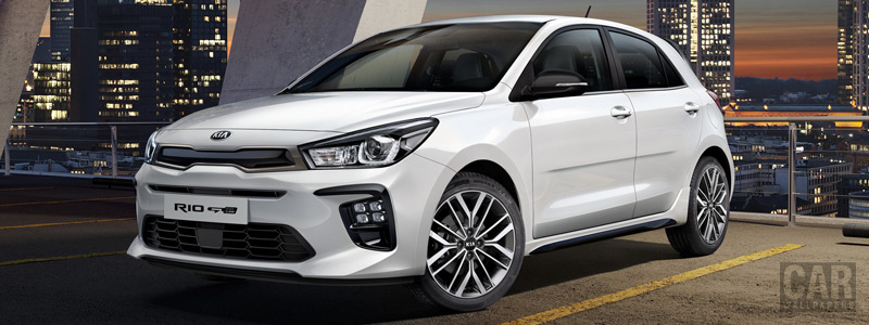 Cars wallpapers Kia Rio GT-Line - 2018 - Car wallpapers