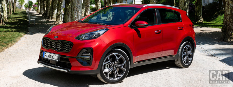 Cars wallpapers Kia Sportage GT Line - 2018 - Car wallpapers