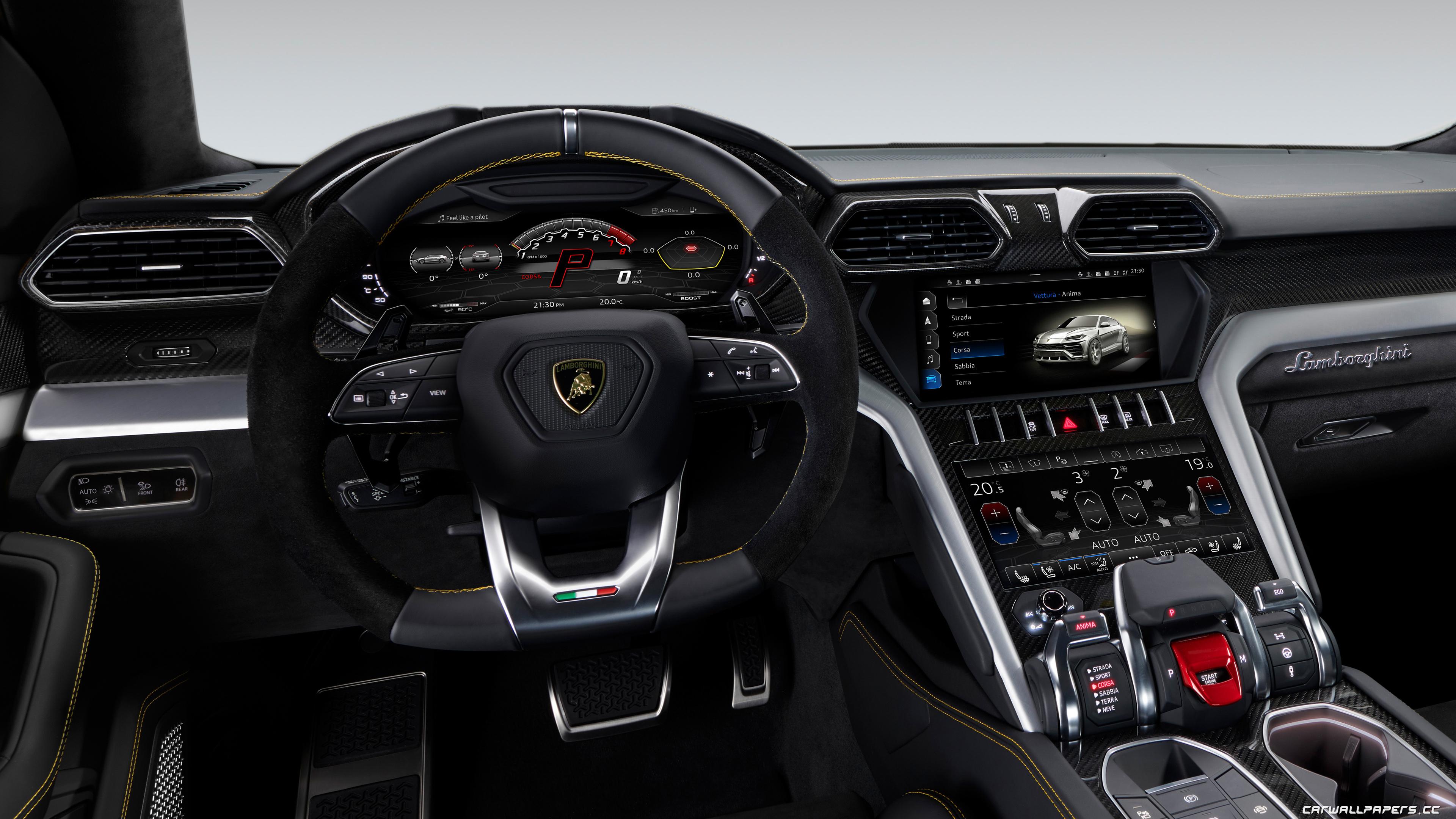 Cars desktop wallpapers Lamborghini Urus - 2018