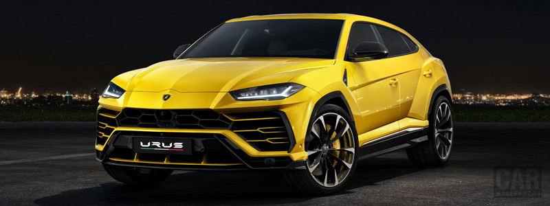 Cars wallpapers Lamborghini Urus - 2018 - Car wallpapers