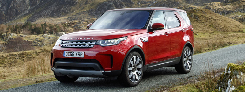 Cars wallpapers Land Rover Discovery HSE UK-spec - 2017 - Car wallpapers