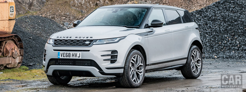 Cars wallpapers Range Rover Evoque P300 HSE R-Dynamic Black Pack UK-spec - 2019 - Car wallpapers