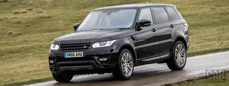 Cars wallpapers Range Rover Sport HSE UK-spec - 2017 - Car wallpapers