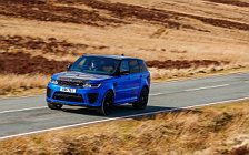 Cars wallpapers Range Rover Sport SVR UK-spec - 2009
