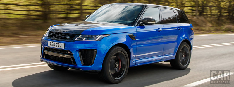 Cars wallpapers Range Rover Sport SVR UK-spec - 2018 - Car wallpapers