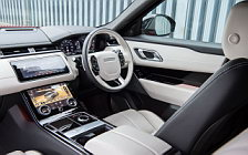 Cars wallpapers Range Rover Velar R-Dynamic D300 HSE Black Pack UK-spec - 2017