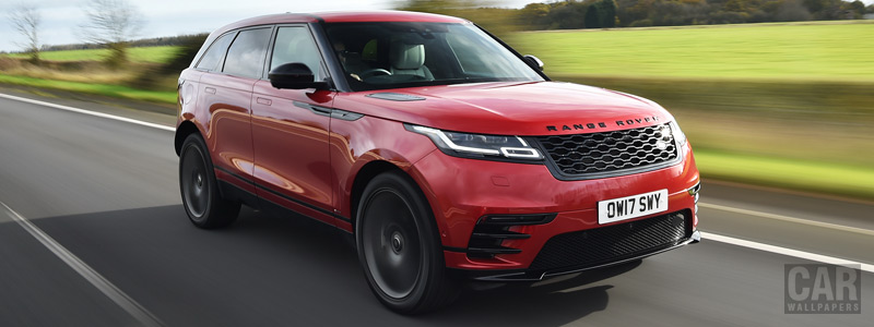 Cars wallpapers Range Rover Velar R-Dynamic D300 HSE Black Pack UK-spec - 2017 - Car wallpapers