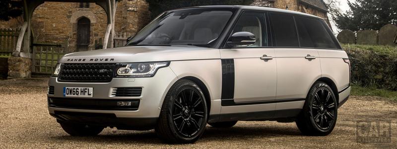 Cars wallpapers Range Rover Autobiography Black Design Pack UK-spec - 2017 - Car wallpapers
