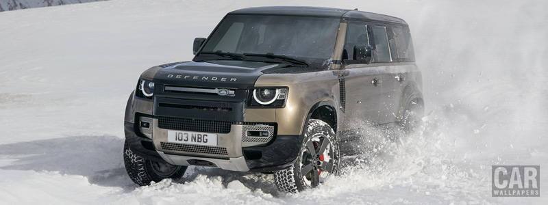 Cars wallpapers Land Rover Defender 110 P400 X - 2020 - Car wallpapers