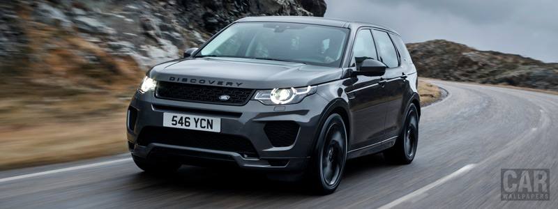 Cars wallpapers Land Rover Discovery Sport HSE Si4 Dynamic Lux - 2017 - Car wallpapers