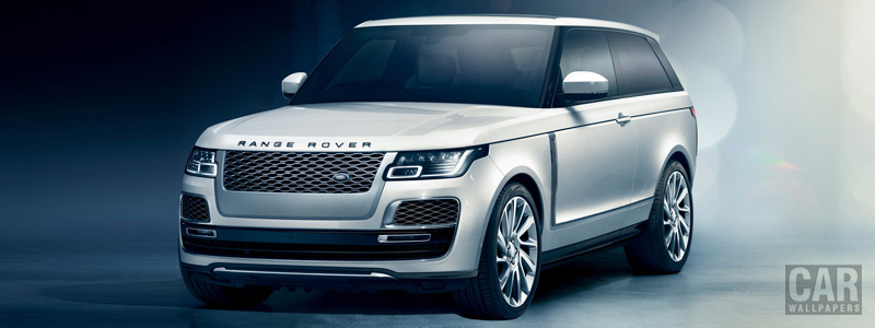 Cars wallpapers Range Rover SV Coupe - 2018 - Car wallpapers