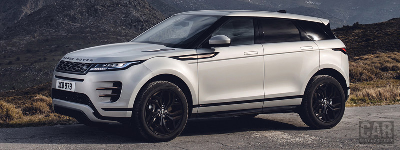 Cars wallpapers Range Rover Evoque R-Dynamic (Seoul Pearl Silver) - 2019 - Car wallpapers