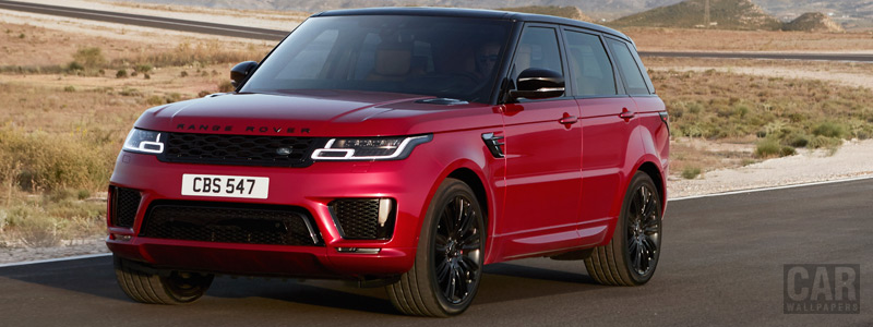 Cars wallpapers Range Rover Sport Autobiography - 2017 - Car wallpapers