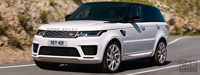 Cars wallpapers Range Rover Sport P400e Autobiography - 2017 - Car wallpapers