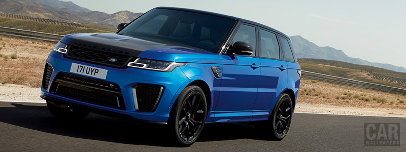Cars wallpapers Range Rover Sport SVR - 2017 - Car wallpapers