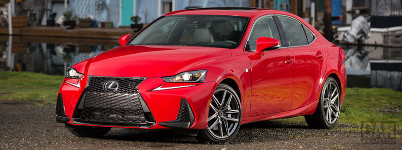 Cars wallpapers Lexus IS 200t F SPORT CA-spec - 2017 - Car wallpapers