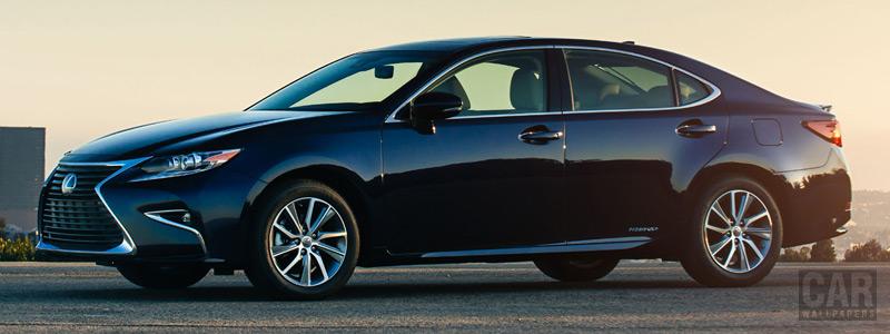 Cars wallpapers Lexus ES 300h US-spec - 2015 - Car wallpapers