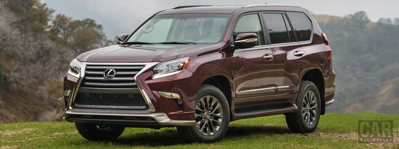 Cars wallpapers Lexus GX 460 Sport Design Package US-spec - 2017 - Car wallpapers