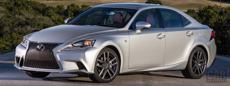Cars wallpapers Lexus IS 350 F SPORT US-spec - 2013 - Car wallpapers
