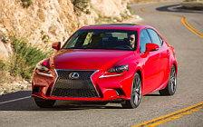 Cars wallpapers Lexus IS 200t F SPORT US-spec - 2015
