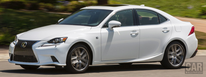 Cars wallpapers Lexus IS 300 AWD F SPORT US-spec - 2015 - Car wallpapers