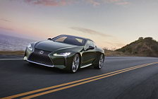 Cars wallpapers Lexus LC 500 Inspiration Series US-spec - 2019