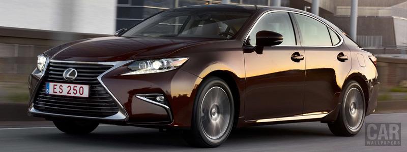 Cars wallpapers Lexus ES 250 - 2015 - Car wallpapers