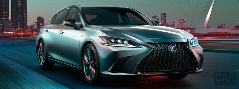 Cars wallpapers Lexus ES 300h F SPORT - 2018 - Car wallpapers