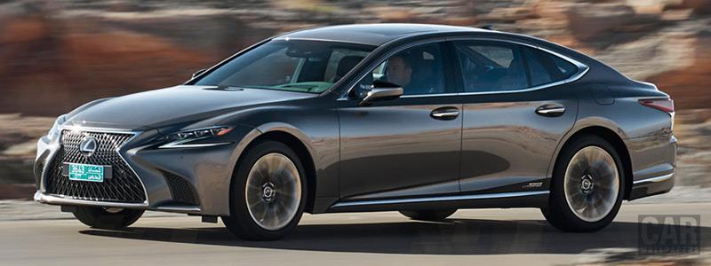 Cars wallpapers Lexus LS 500h AWD (Manganese Luster) - 2017 - Car wallpapers