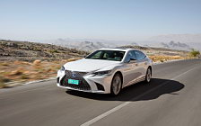 Cars wallpapers Lexus LS 500h AWD (Sonic White) - 2017