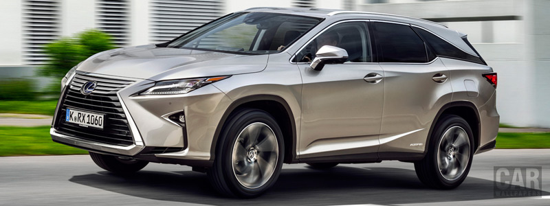 Cars wallpapers Lexus RX 450hL - 2018 - Car wallpapers