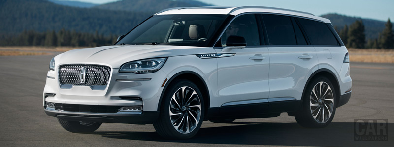 Cars wallpapers Lincoln Aviator - 2019 - Car wallpapers