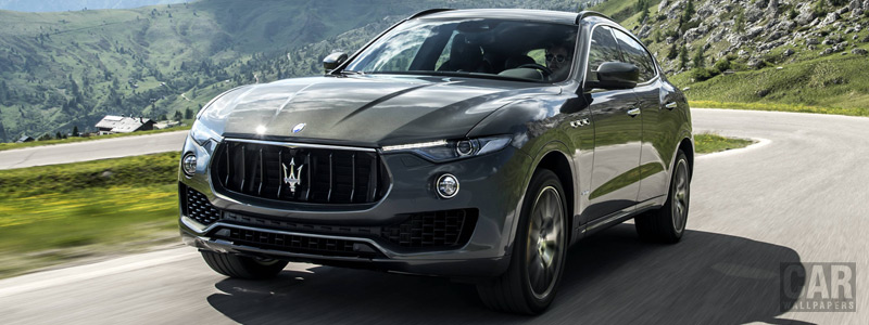 Cars wallpapers Maserati Levante S Q4 GranSport - 2017 - Car wallpapers