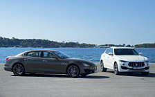 Cars wallpapers Maserati Quattroporte Diesel GranSport - 2017