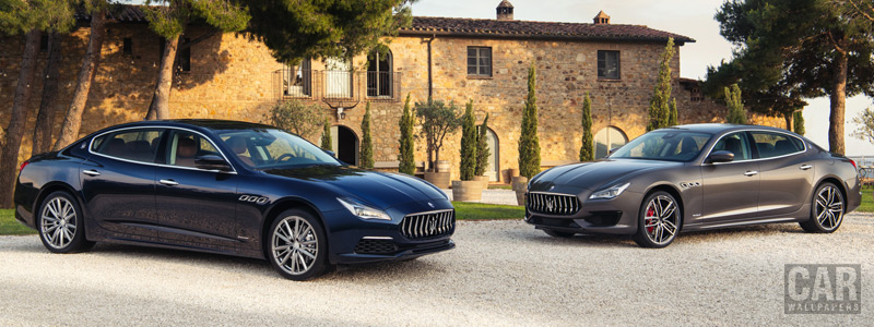 Cars wallpapers Maserati Quattroporte GranLusso & GranSport - 2018 - Car wallpapers