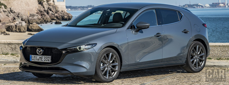 Cars wallpapers Mazda 3 Hatchback (Polymetal Grey Metallic) - 2019 - Car wallpapers