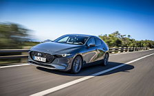 Cars wallpapers Mazda 3 Hatchback (Polymetal Grey Metallic) - 2019