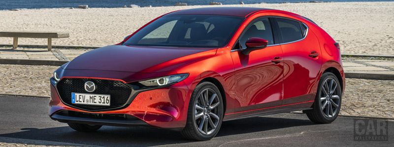 Cars wallpapers Mazda 3 Hatchback (Soul Red Crystal) - 2019 - Car wallpapers