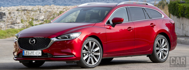 Cars wallpapers Mazda 6 Wagon - 2018 - Car wallpapers